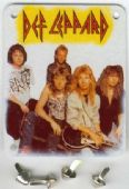 Def Leppard - Brassart Metal Patch
